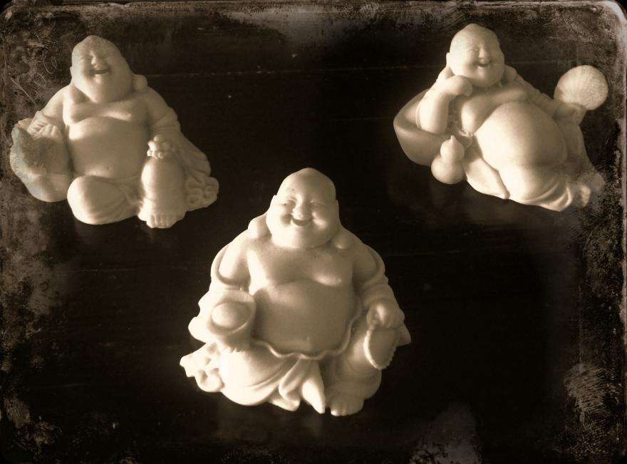 Buddhas processed