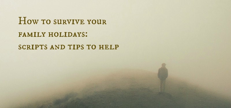 how to survive your family holiday